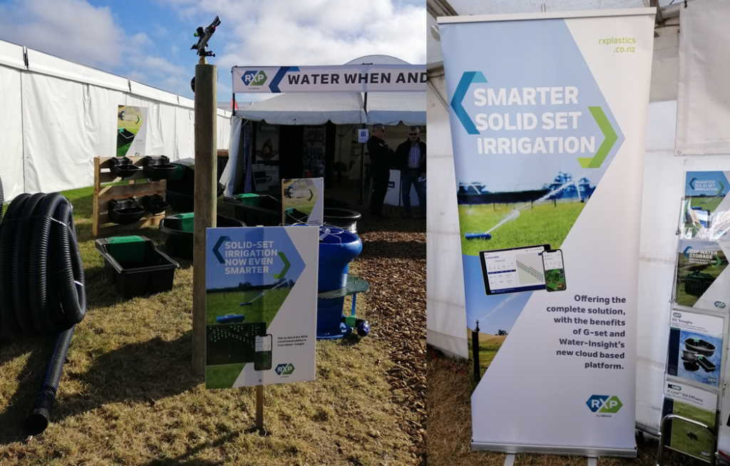 IMS and RXP Technology at field days