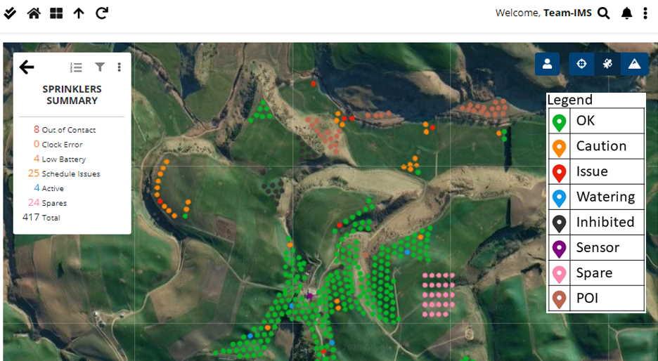 IMS farm display on Google