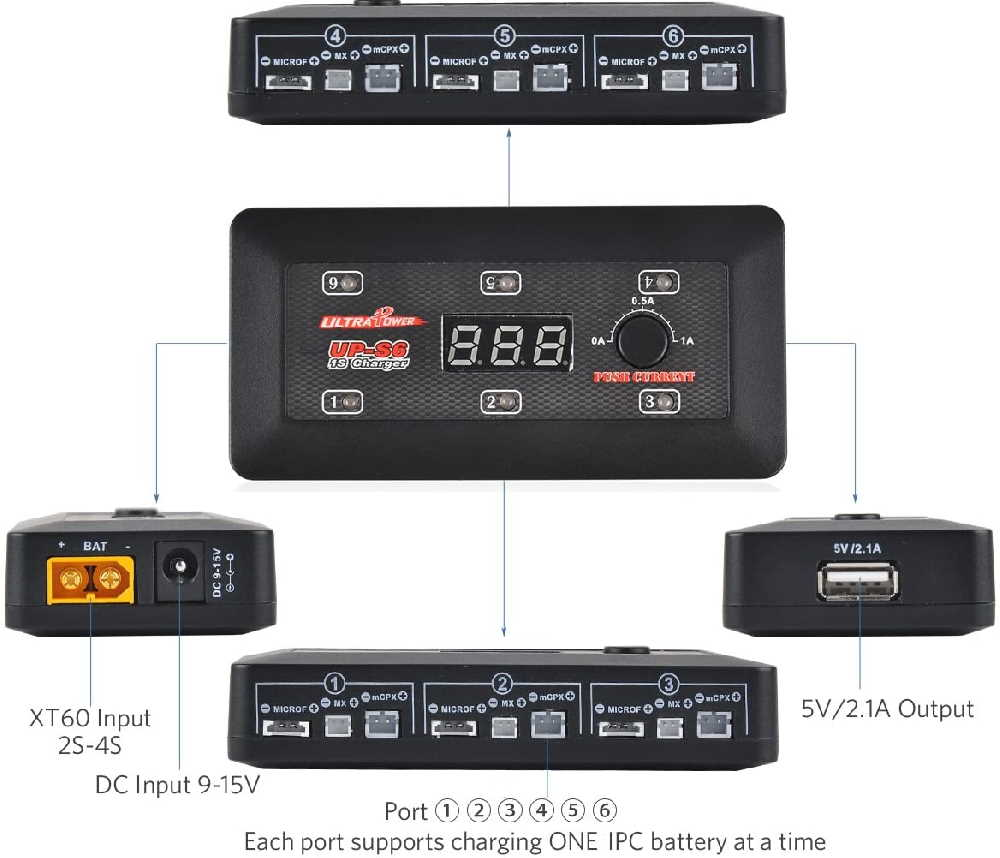 IPC battery charger connections