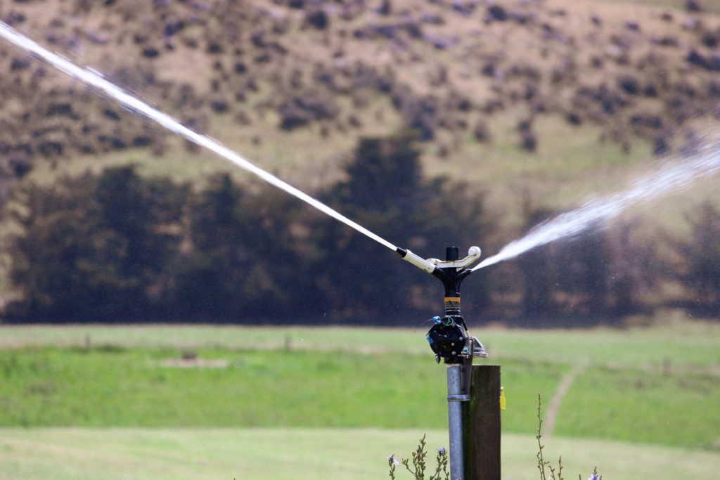 IPC operating solid set irrigation sprinkler