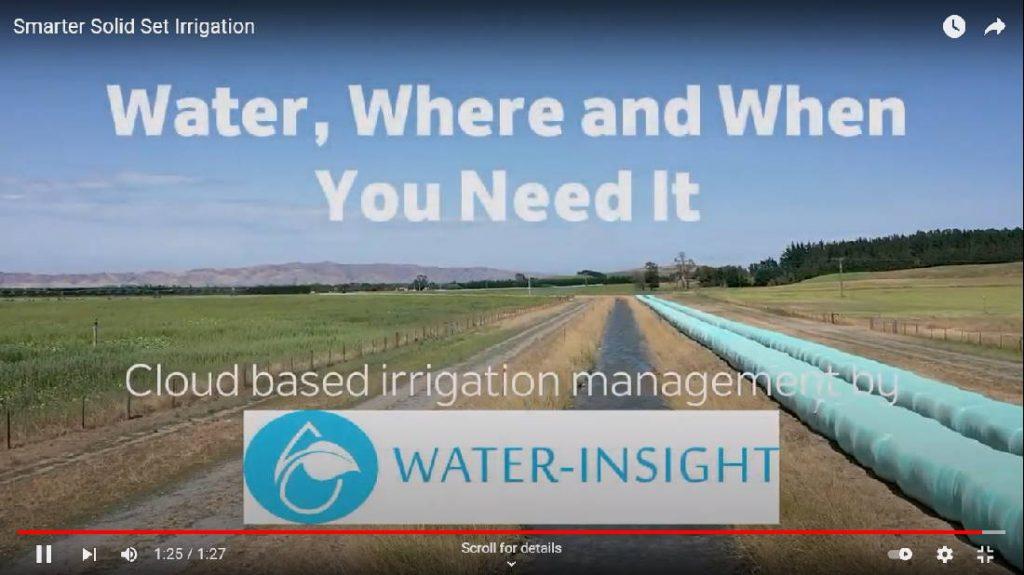 Smarter Solid Set Irrigation